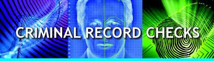 Criminal record checks